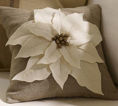 Pb Knock Off Poinsettia Pillow Crafterhours