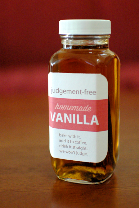 Judgement-Free Homemade Vanilla For All
