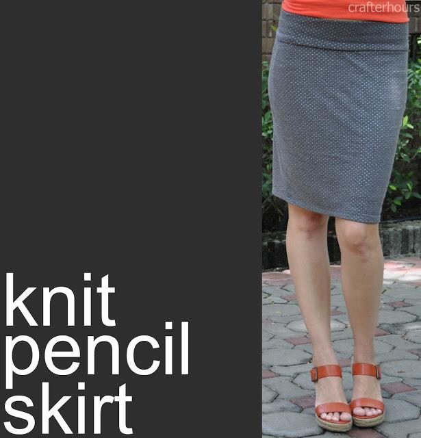 Knitting Skirt Tutorial : Knit pencil skirt a tutorial crafterhours