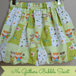 No Gathers Bubble Skirt