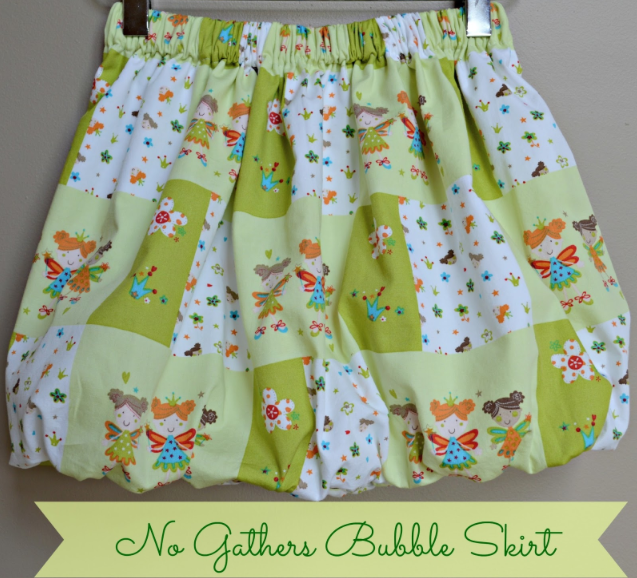 We Welcome Olga! Sharing the No Gathers Bubble Skirt