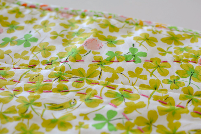 crafterhours briar rose heather ross baby quilt - 22
