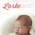 Larke Announcement