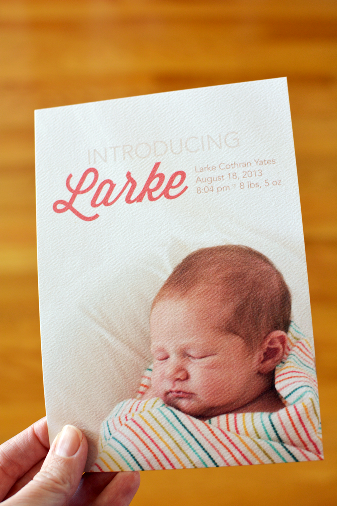 crafterhours baby announcement 1