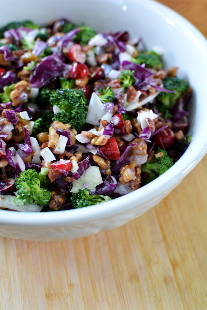 crafterhours broccoli recipe salad2