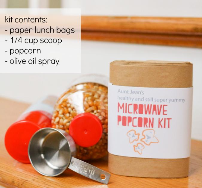 crafterhours popcorn kit ingredients