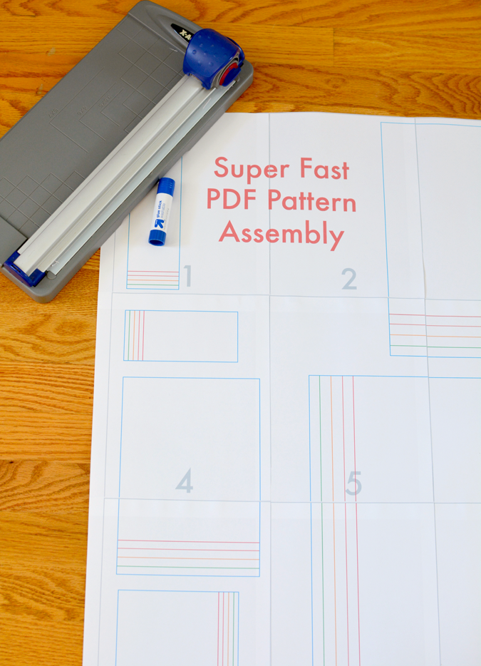 Superfast PDF Pattern Assembly