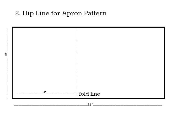Apron Pattern Hip Line