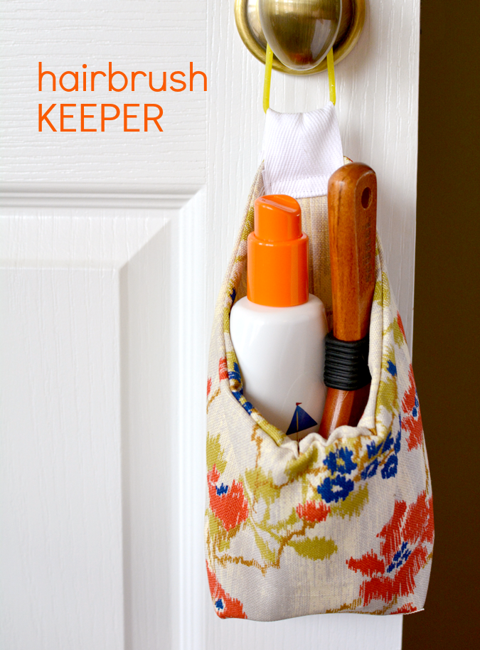 crafterhours hairbrush keeper 1