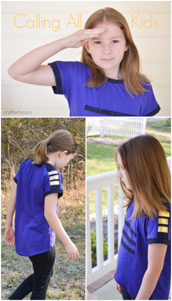 Calling All Kids! Military Inspired Tee