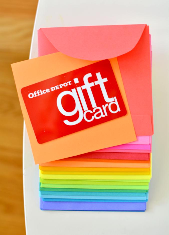 crafterhours astrobrights envelope gift card