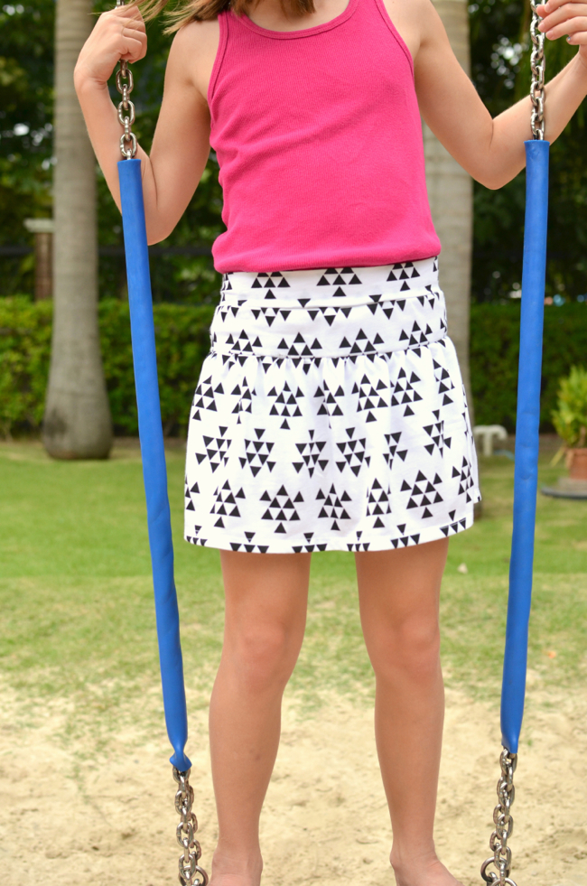 FREE Pattern: Monkey Bar Skirt