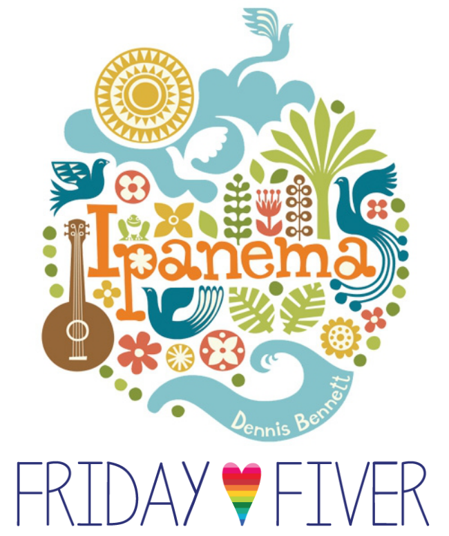 Friday Fiver: Fabricworm!