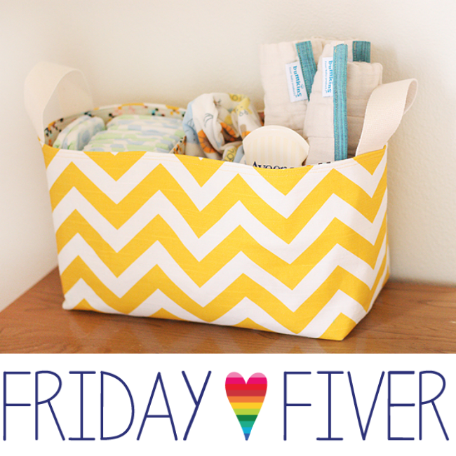noodlehead divided basket crafterhours friday fiver