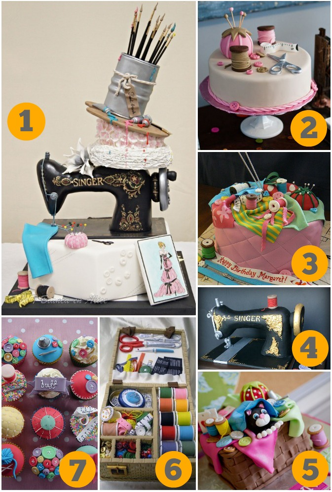 crafterhours 7 most amazing sewing cakes