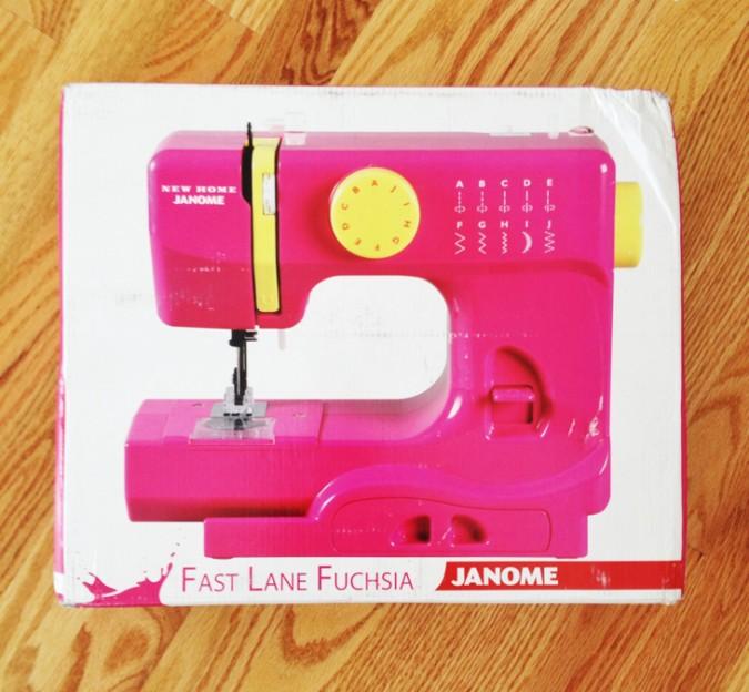 Janome Sew Mini Sewing Machine for Kids-1
