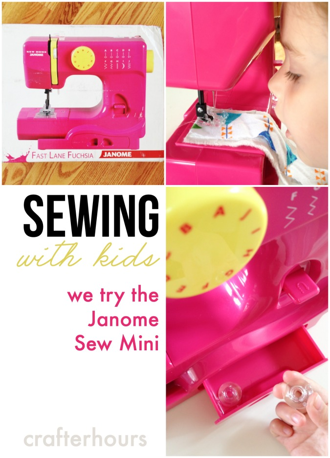 A Sewing Machine for Kids – Janome Sew Mini