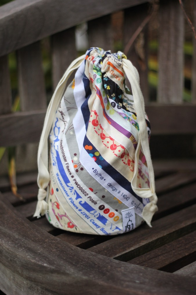 Created Blissfully guest post for crafterhours Bag Tutorial