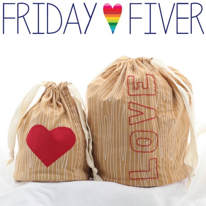 Friday Fiver: Created Blissfully
