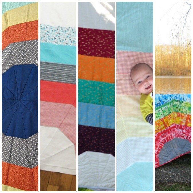 ALL the Rainbows: Giant Rainbow Quilt Testers