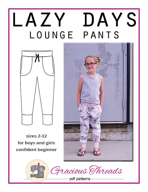 Lazy Days Lounge Pants by Gracious Threads