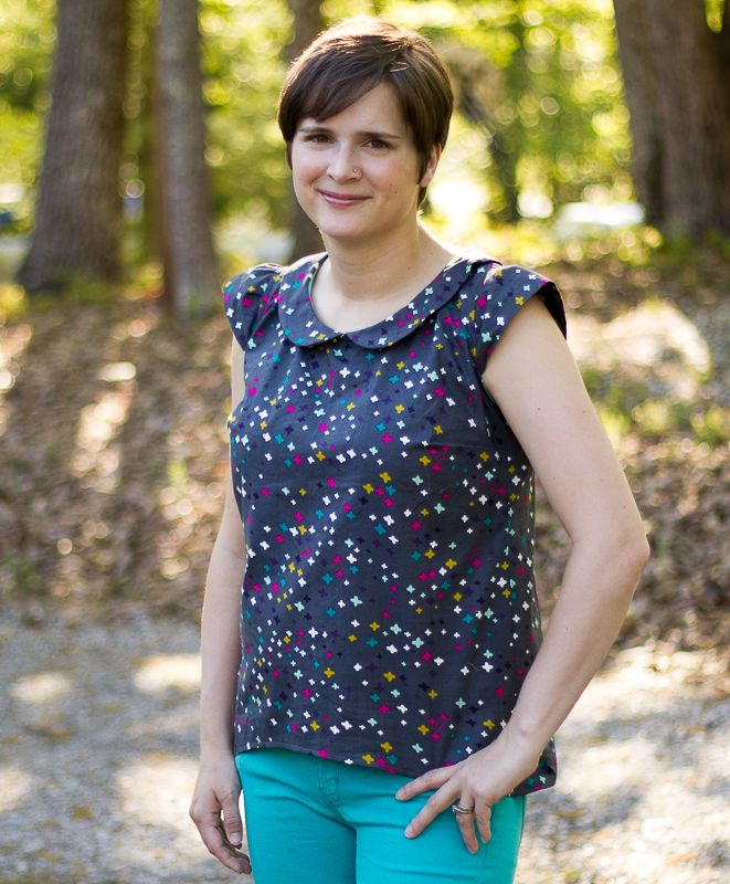 Sugar Pop Top from Sew Caroline