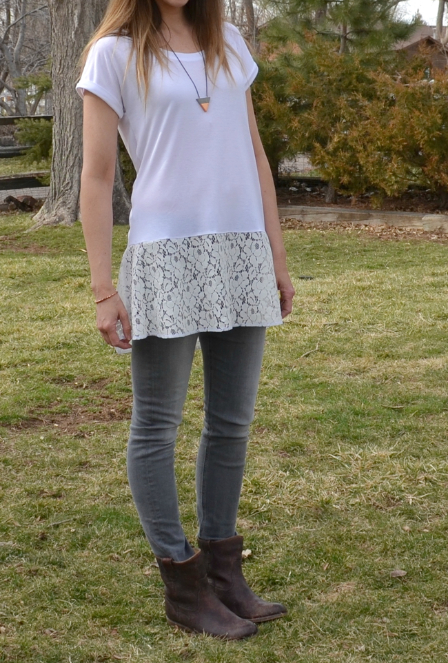 Downtown Tunic from Sew Caroline, made by Crafterhours