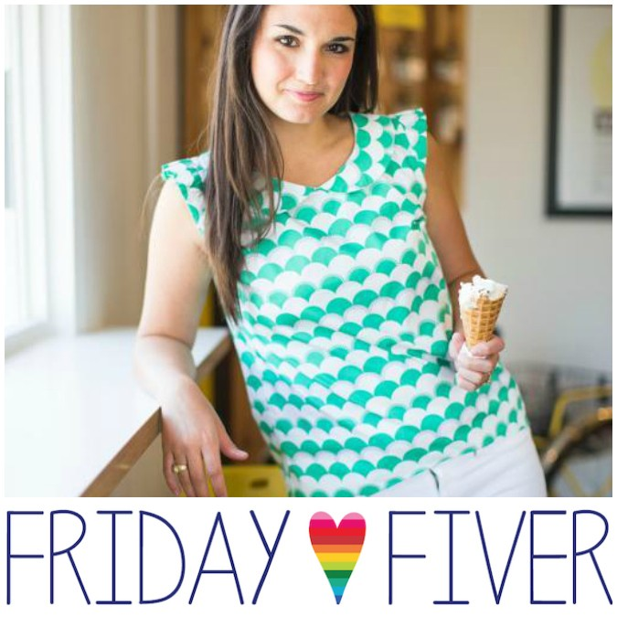 Friday Fiver: Sew Caroline!