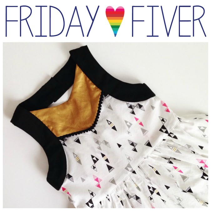 Friday Fiver: Striped Swallow Designs