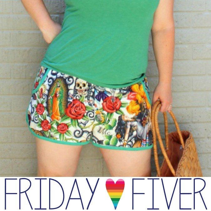 FRIDAY FIVER: Prefontaine Shorts for Women!