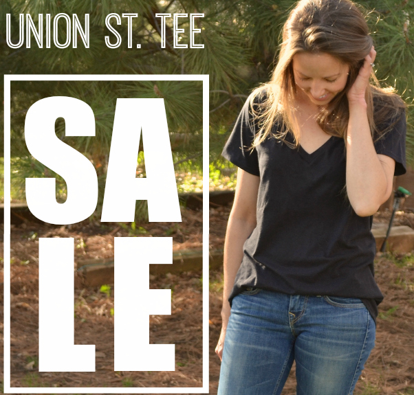 The New, Improved, and even more Awesome Union St. Tee (and a sale too!)