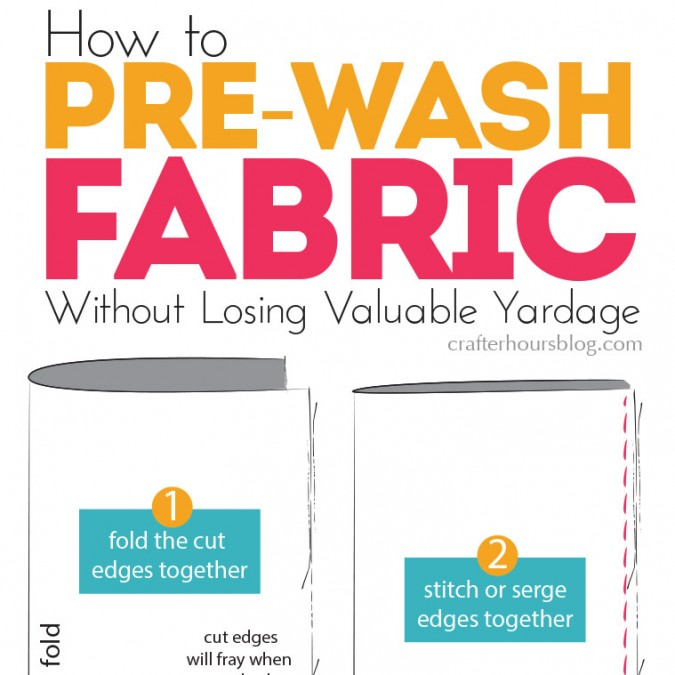 How to Pre-Wash Fabric in 4 Easy Steps