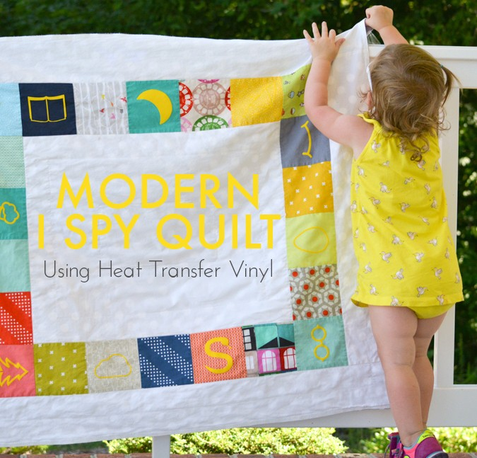 Modern I Spy Quilt (with Free Graphics Download)