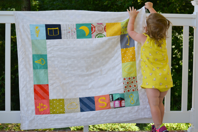 I Spy Quilt with Heat Transfer Vinyl icons-5