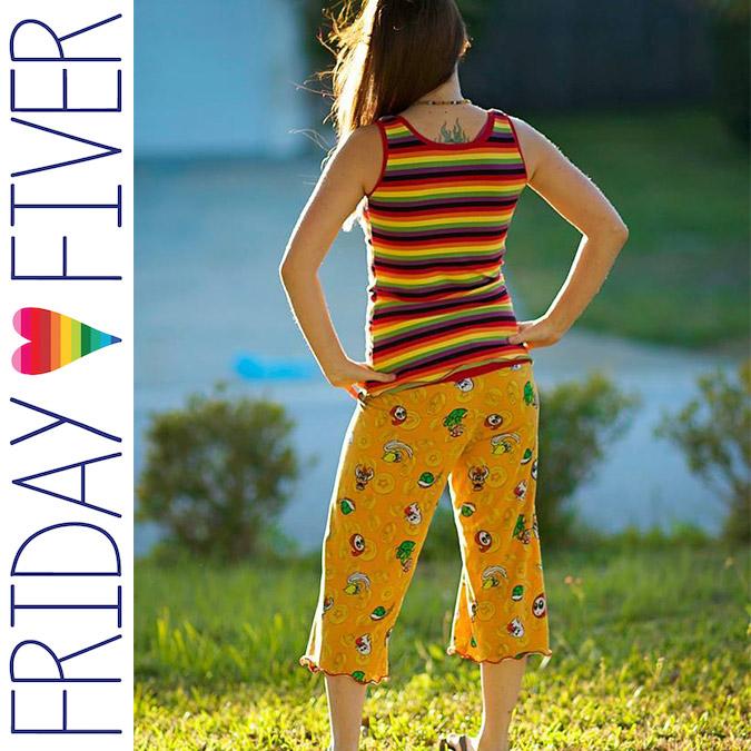 Versatility Friday Fiver