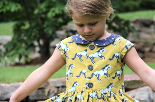Flip Flop Dress Pattern by Whipstitch