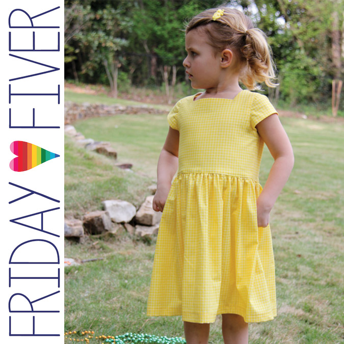 Friday Fiver Flip Flop Dress