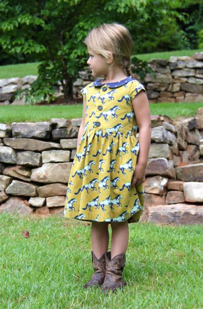 Flip Flop Dress by Whipstitch full length front with front closure
