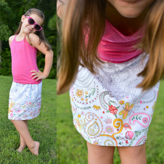 color me skirt by crafterhours