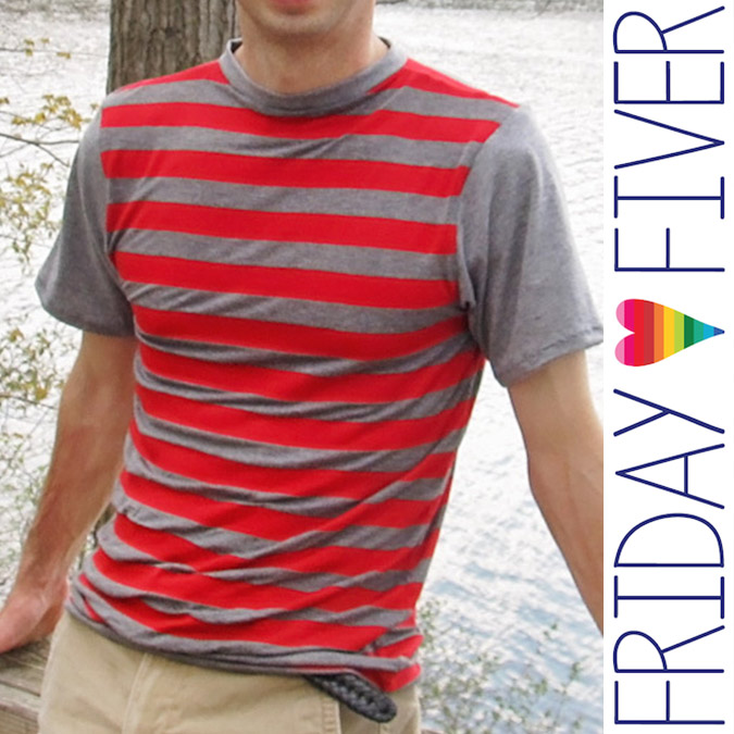 Friday Fiver Tahoe Tee by Peekaboo Pattern Shop