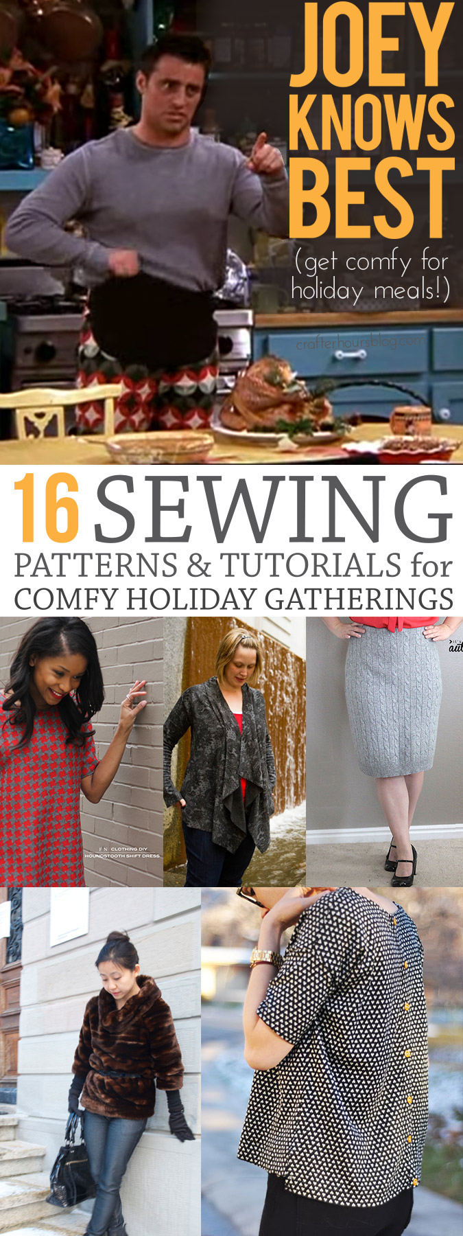 16 Things to Sew for Comfy Holiday Gatherings