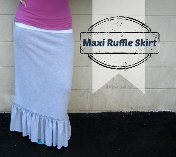 Ruffled Maxi