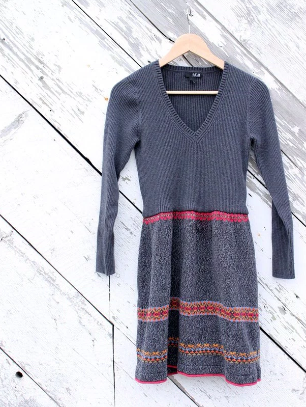 Winter Sweater Dress