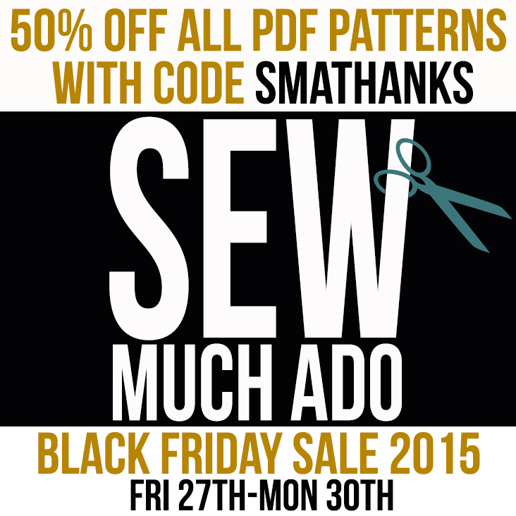 black friday sale 2015 Sew Much Ado